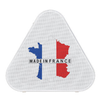 made in france country map flag product label speaker