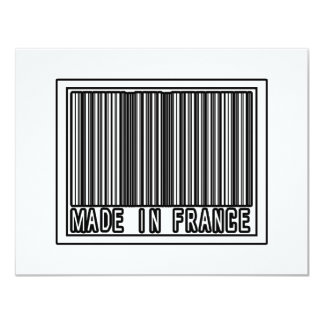 Made In France 4.25x5.5 Paper Invitation Card