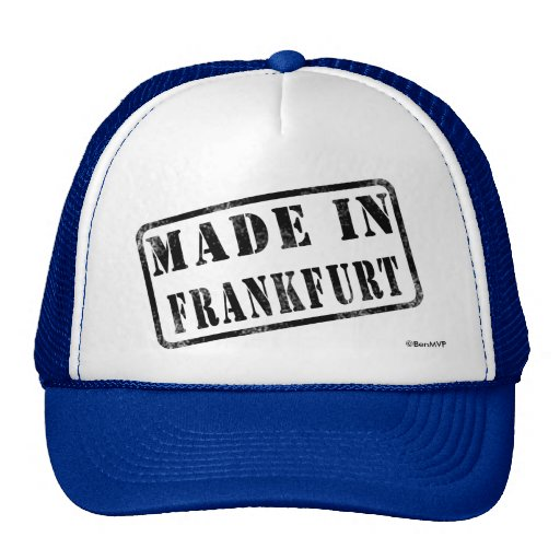 Made in Frankfurt Trucker Hat