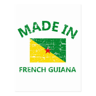 Made in French guiana Postcard