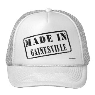 Made in Gainesville Mesh Hats