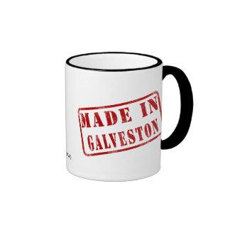 Made in Galveston Ringer Mug