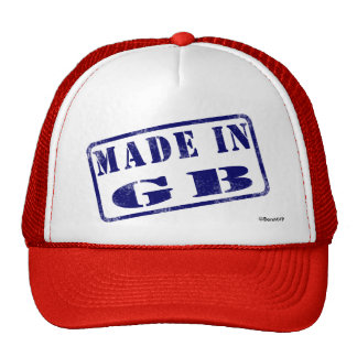 Made in GB Trucker Hat