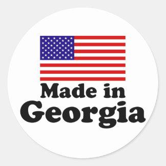 Made in Georgia Classic Round Sticker