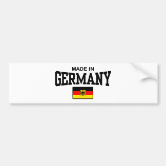 Made In Germany Bumper Stickers