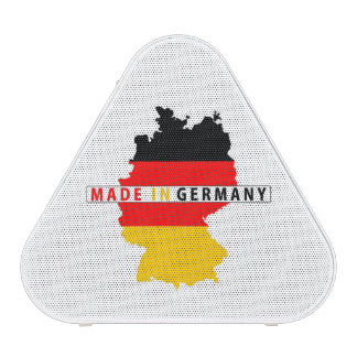 made in germany country map flag product label bluetooth speaker