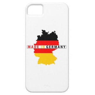 made in germany country map flag product label iPhone 5 cover