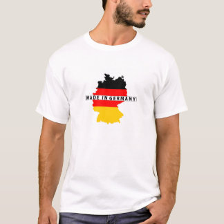 made in germany country map flag product label T-Shirt