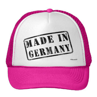 Made in Germany Trucker Hats