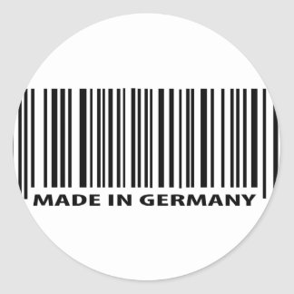 made in germany icon stickers