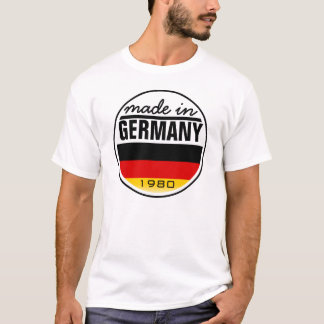 """Made in ...""""Germany"""" T-Shirt"""