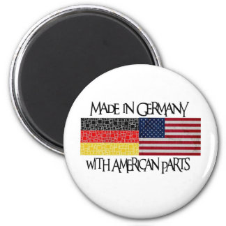 Made in Germany with american parts Refrigerator Magnet