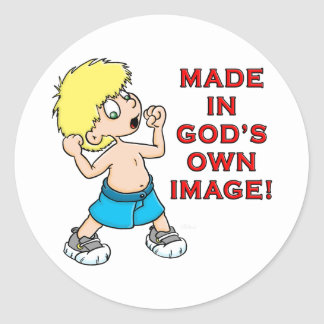 Made in God's Image Stickers