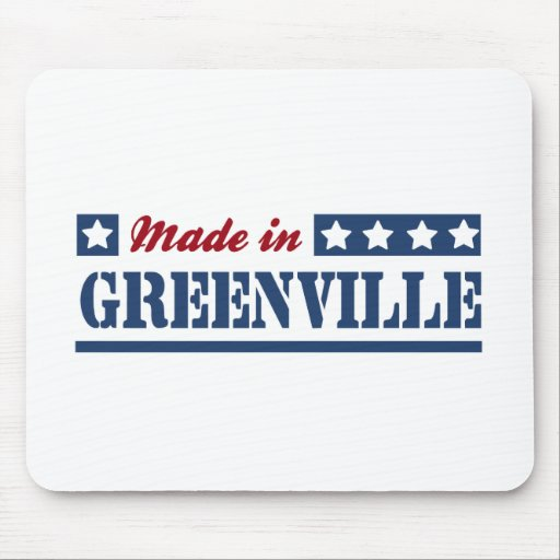 Made in Greenville SC Mouse Pad