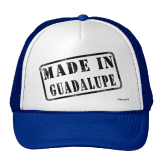 Made in Guadalupe Trucker Hat
