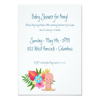 Made in Guam Baby Shower Card