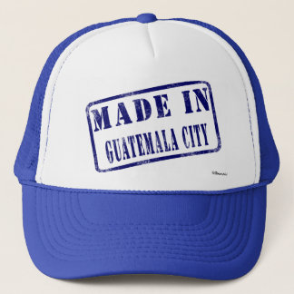 Made in Guatemala City Trucker Hat