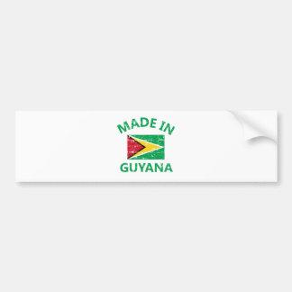 Made in Guyana Bumper Sticker