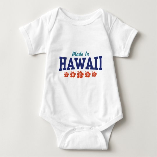 Made in Hawaii Baby Bodysuit