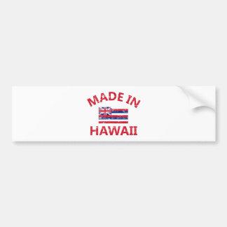 Made in Hawaii Bumper Sticker
