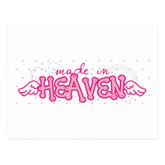 Made In Heaven Kids Post Card