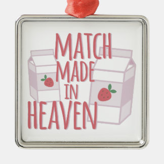 Made In Heaven Metal Ornament