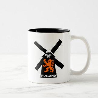 Made In Holland Two-Tone Coffee Mug