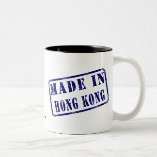Made in Hong Kong Two-Tone Coffee Mug