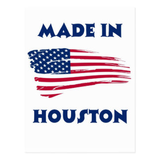 MADE IN HOUSTON POSTCARD