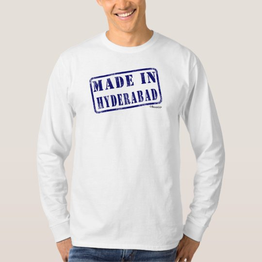Made in Hyderabad T-Shirt