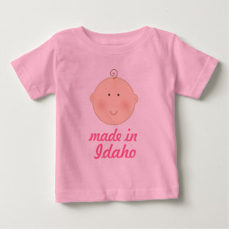 Made In  Idaho Baby or Toddler Tee Shirt