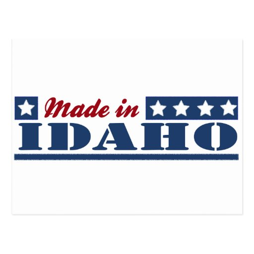 Made In Idaho Post Cards