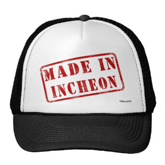 Made in Incheon Trucker Hat