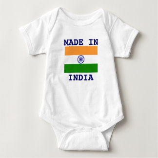 Made in India Baby Bodysuit