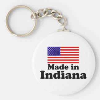 Made in Indiana Keychain