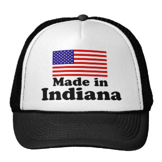 Made in Indiana Trucker Hat
