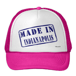 Made in Indianapolis Trucker Hat