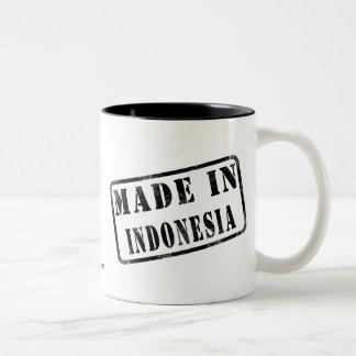 Made in Indonesia Two-Tone Coffee Mug