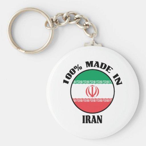 Made In Iran Basic Round Button Keychain
