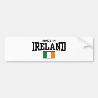 Made In Ireland Bumper Sticker