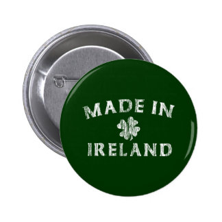 Made in Ireland Button