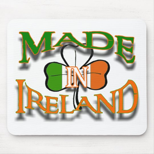 MADE IN IRELAND MOUSE PAD