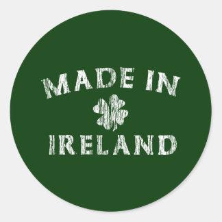 Made in Ireland Round Sticker
