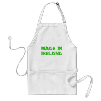 Made in Ireland St. Patrick day Adult Apron