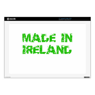 "Made in Ireland St. Patrick day 17"" Laptop Decals"