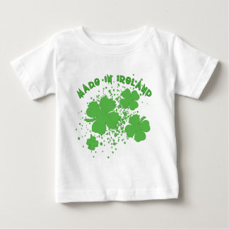 Made In Ireland with Shamrocks Products Baby T-Shirt