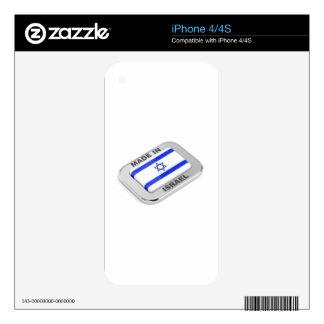 Made in Israel iPhone 4 Skin