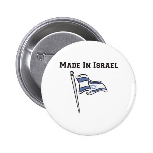 Made In Israel Pins