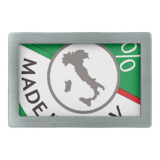 MADE IN ITALY 100% BELT BUCKLE
