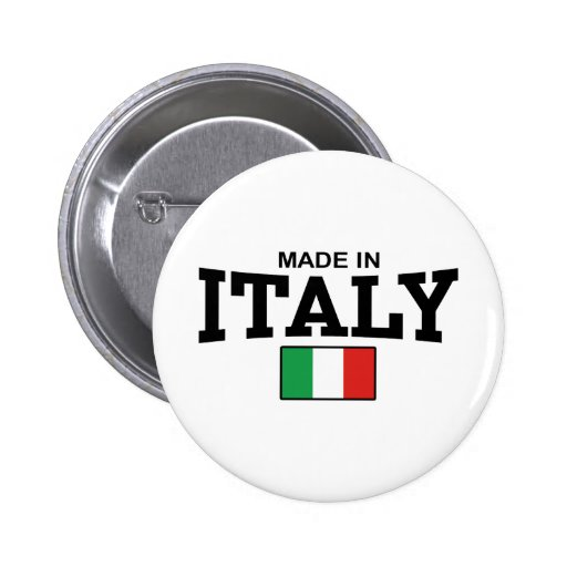 Made in Italy 2 Inch Round Button